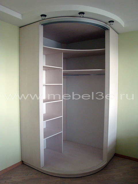 Радиусный шкаф 19-1