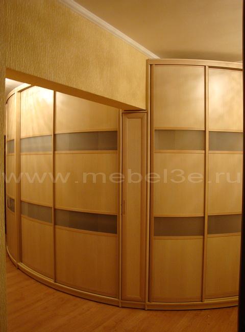 Радиусный шкаф 24