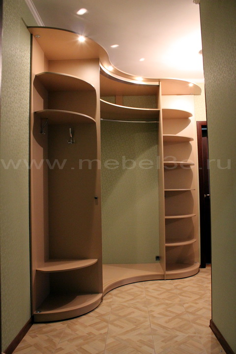 Радиусный шкаф 35-2