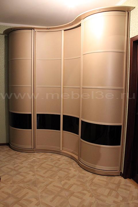 Радиусный шкаф 35