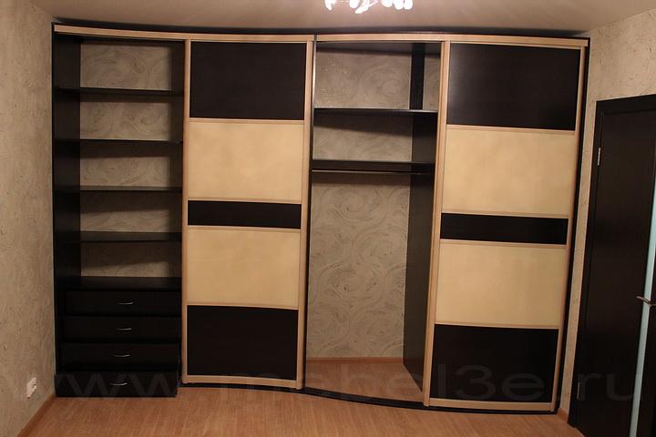 Радиусный шкаф 36-1