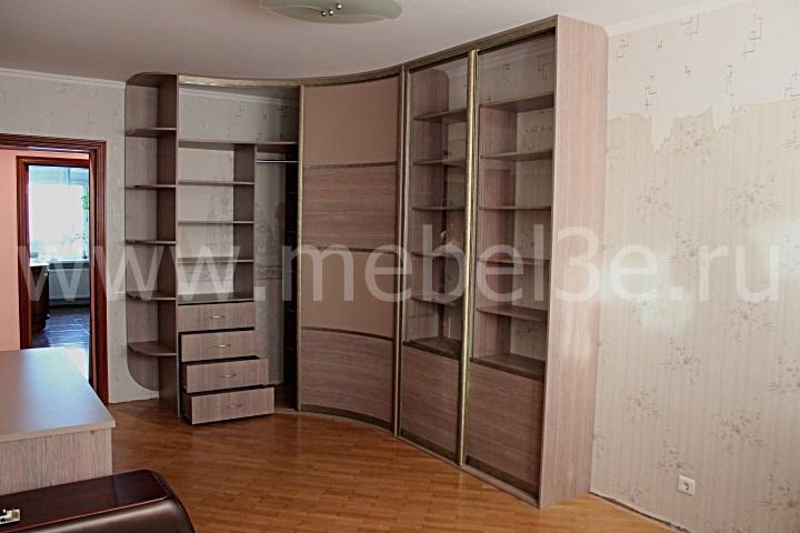 Радиусный шкаф 44-3