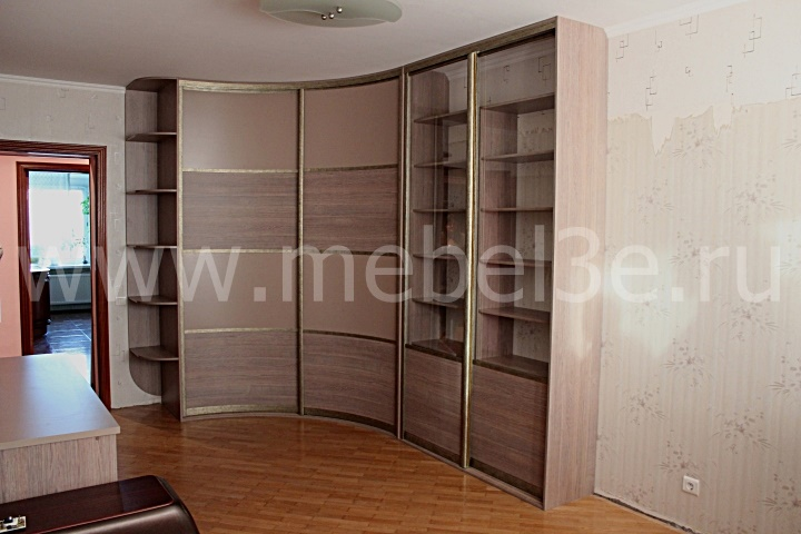 Радиусный шкаф 44