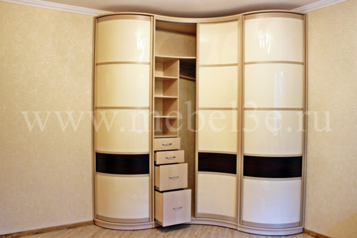 Радиусный шкаф 45-1