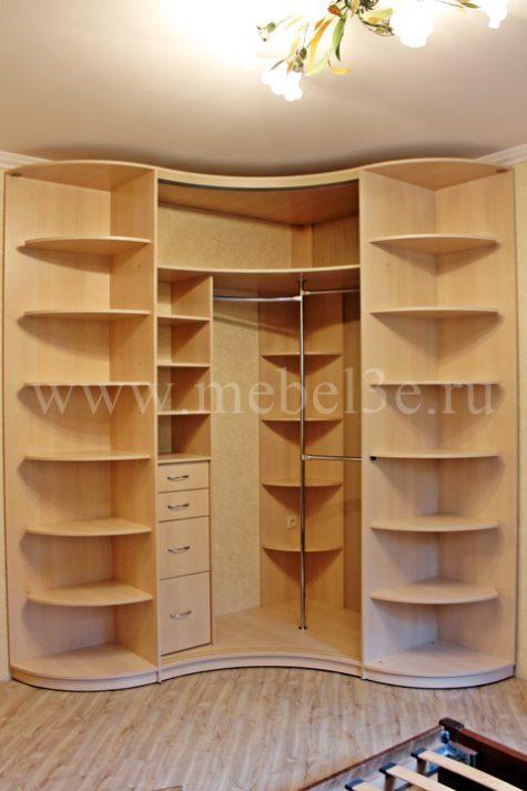 Радиусный шкаф 45-2