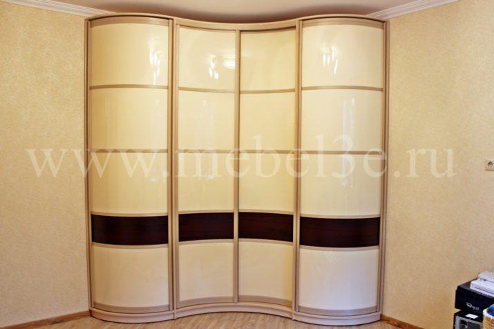 Радиусный шкаф 45
