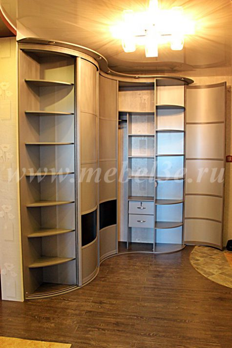 Радиусный шкаф 48-2