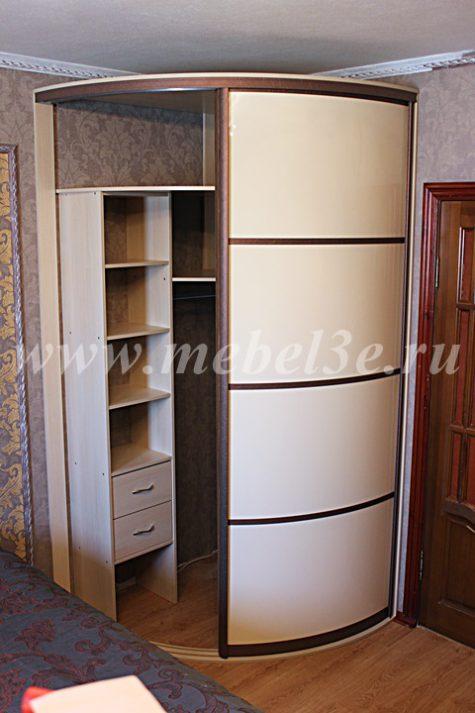 Радиусный шкаф 50-1-2