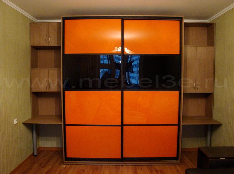 Шкаф-купе orange black - мебель и предметы интерьера волгогр.