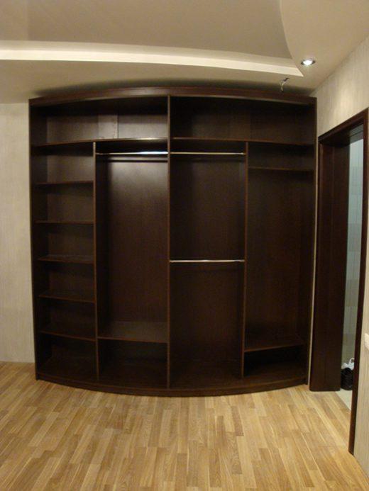 Радиусный шкаф 56-3