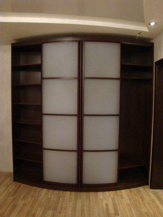 Радиусный шкаф 56-5
