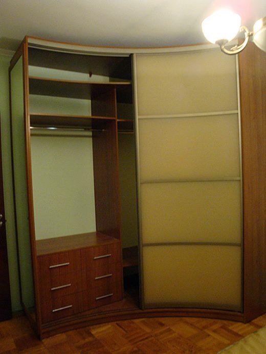 Радиусный шкаф 57-1