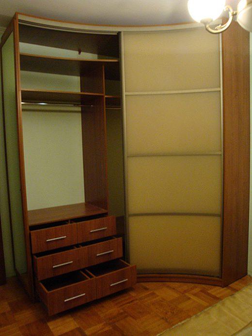 Радиусный шкаф 57-2