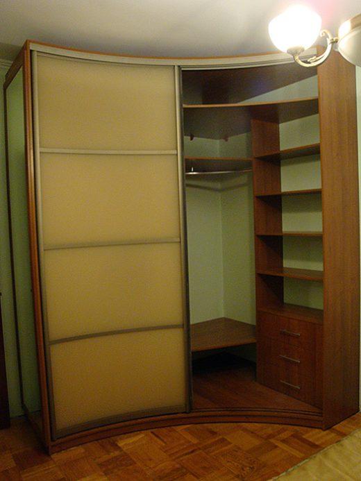 Радиусный шкаф 57-3