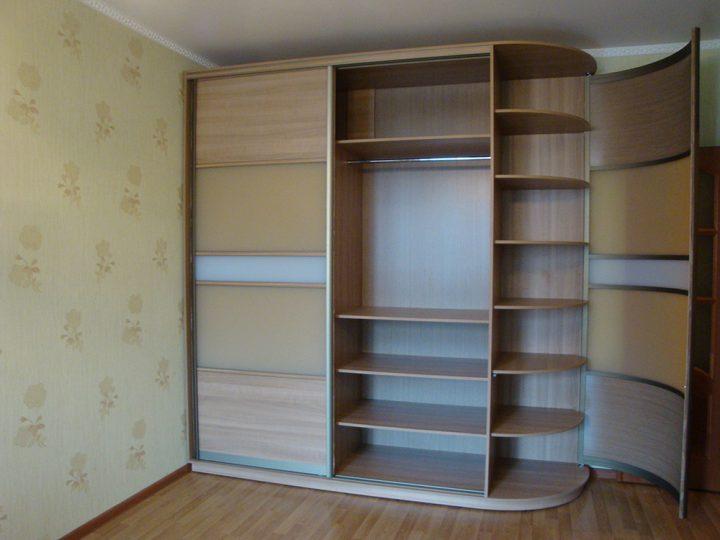 Радиусный шкаф 60-2