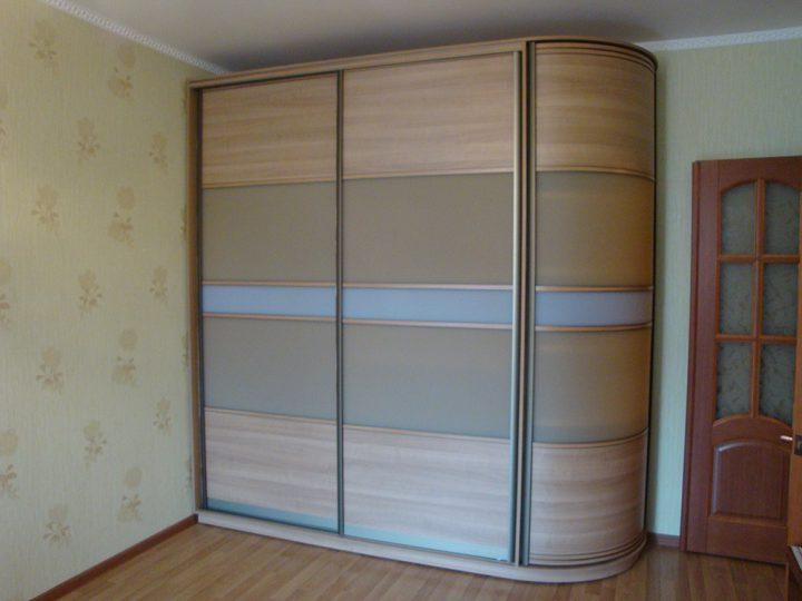 Радиусный шкаф 60