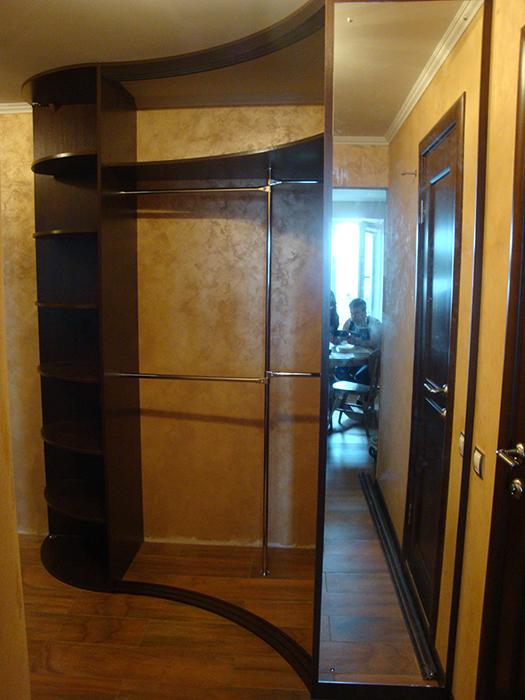 Радиусный шкаф 62-2