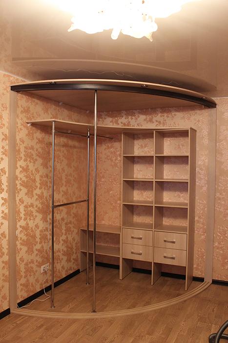 Радиусный шкаф 63-1