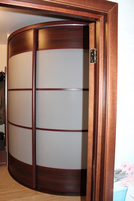Радиусный шкаф 65