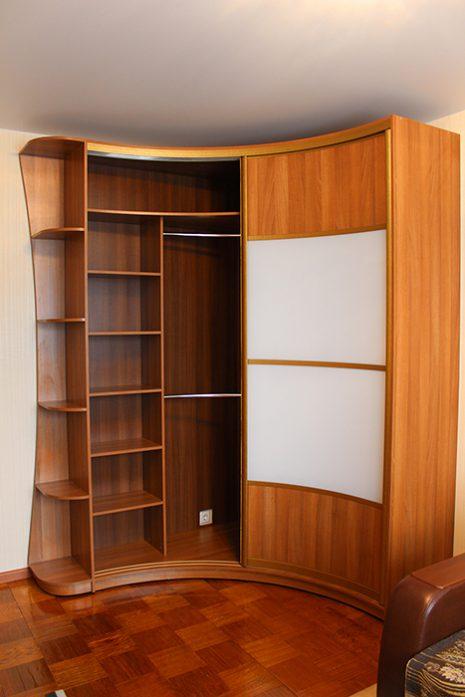 Радиусный шкаф 66-2