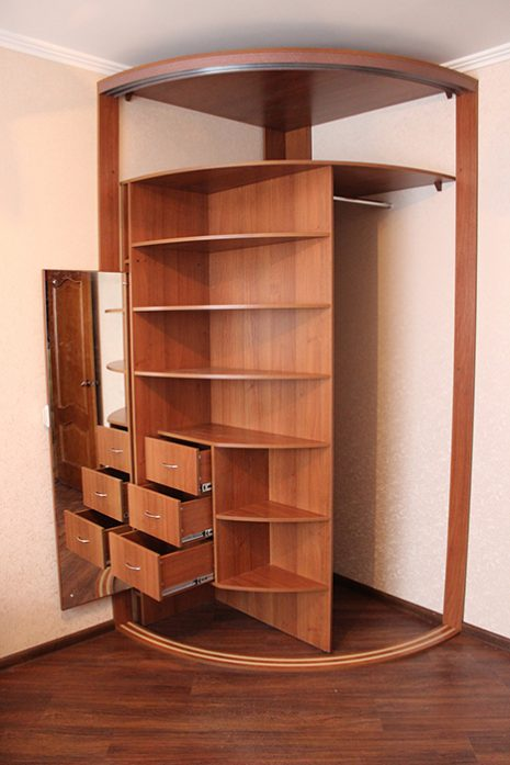 Радиусный шкаф 67-4