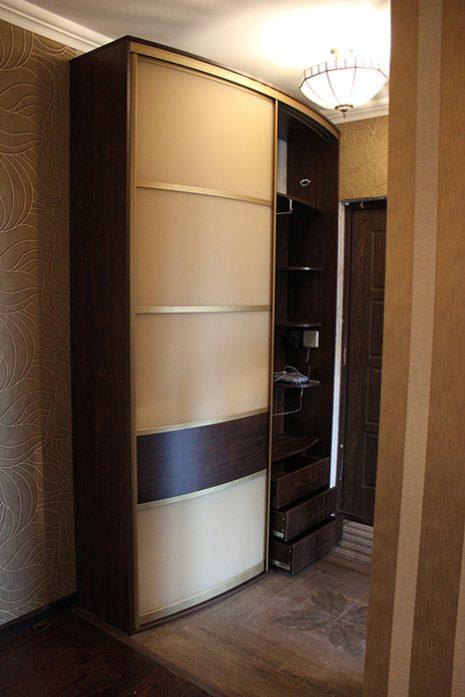 Радиусный шкаф 68-5