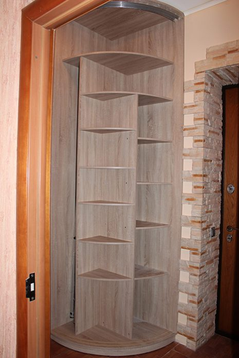 Радиусный шкаф 69-2
