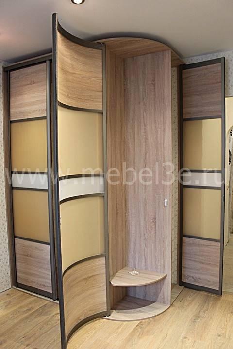Радиусный шкаф 76-2