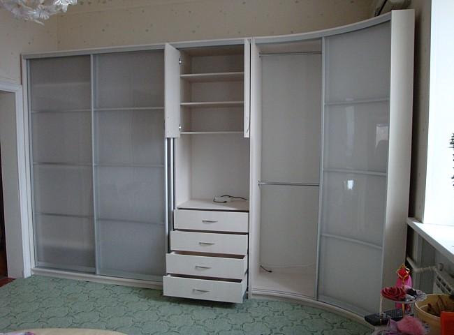Радиусный шкаф 11-2