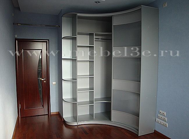 Радиусный шкаф 2-1
