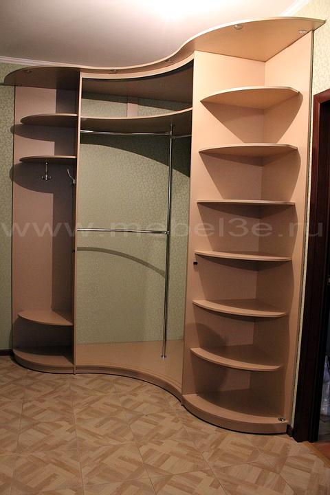 Радиусный шкаф 35-3
