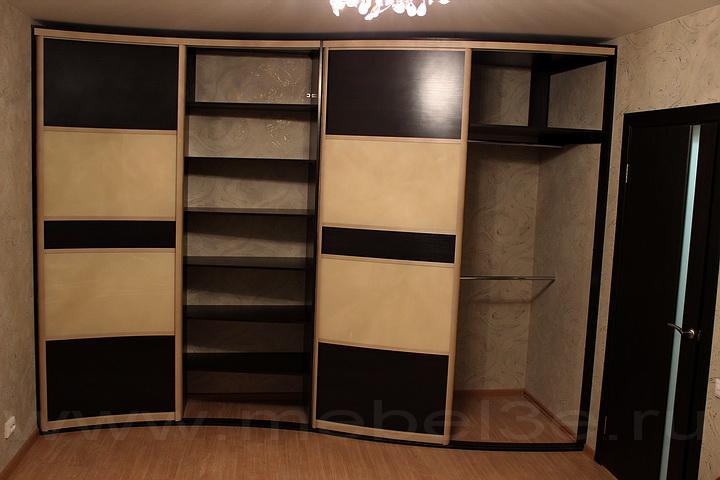 Радиусный шкаф 36-2