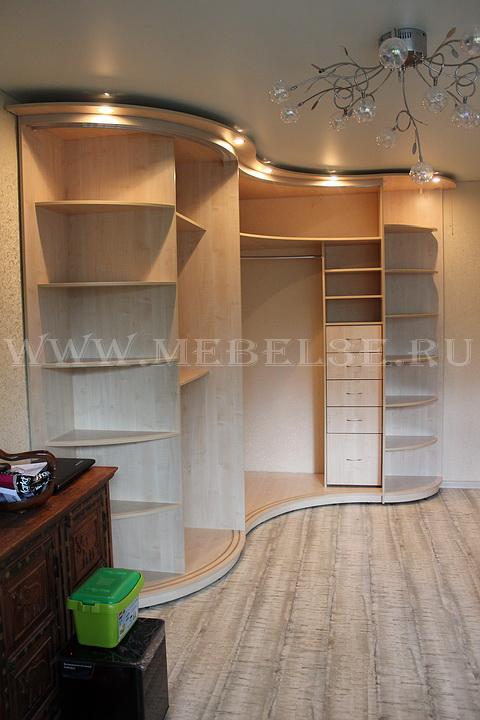 Радиусный шкаф 42-2