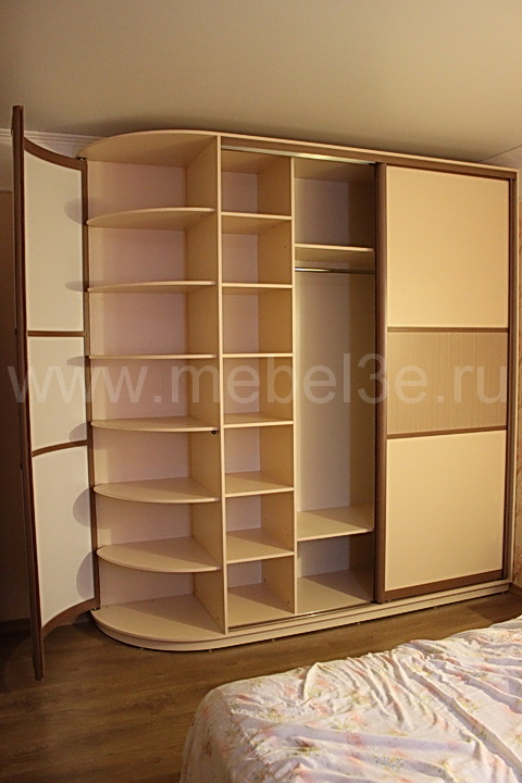 Радиусный шкаф 43-1