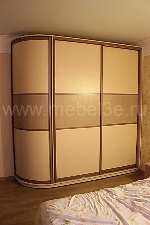 Радиусный шкаф 43