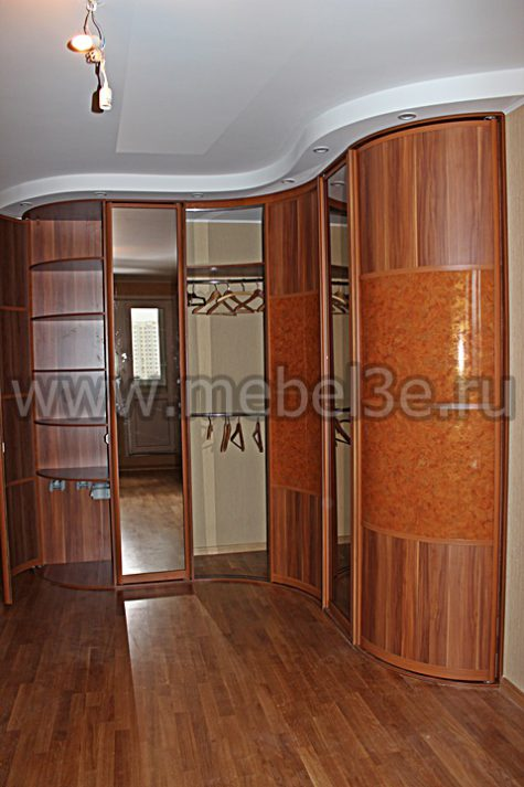 Радиусный шкаф 47-1