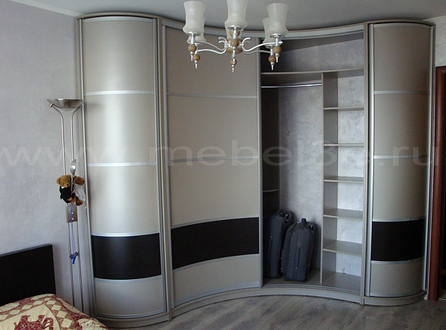 Радиусный шкаф 7-1