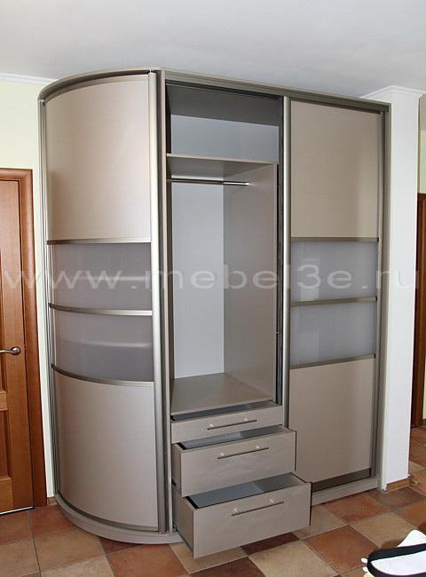 Радиусный шкаф 8-1