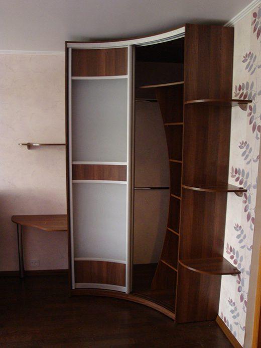 Радиусный шкаф 51-2