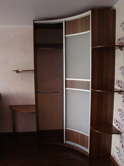 Радиусный шкаф 51-3