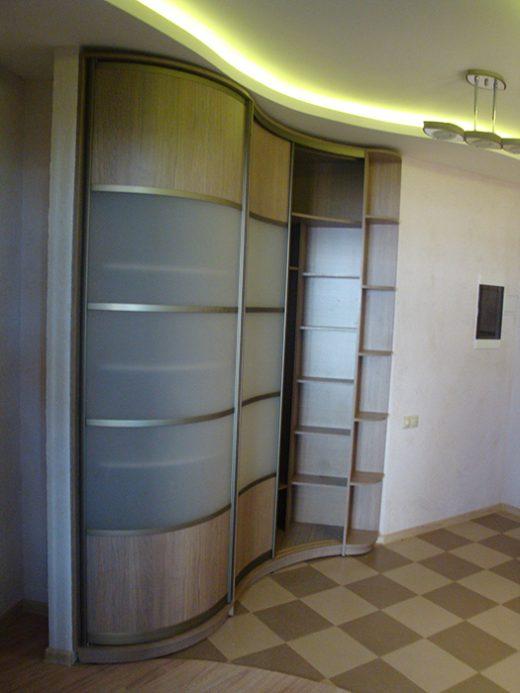 Радиусный шкаф 52-1