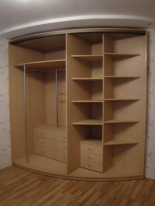 Радиусный шкаф 55-1