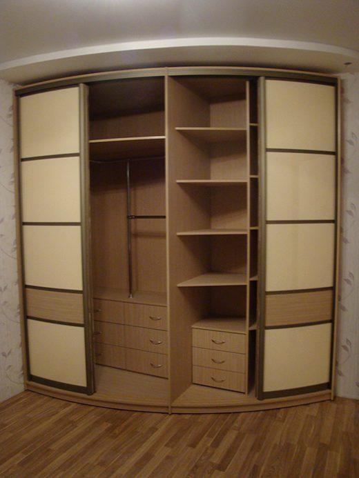 Радиусный шкаф 55-3