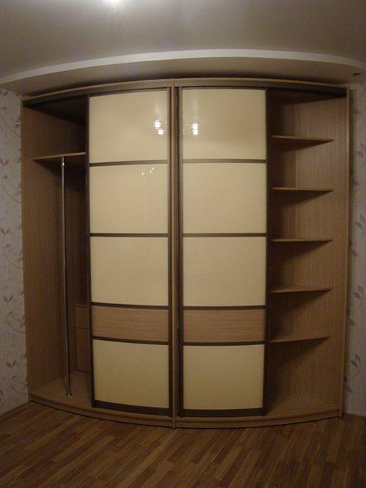 Радиусный шкаф 55-4