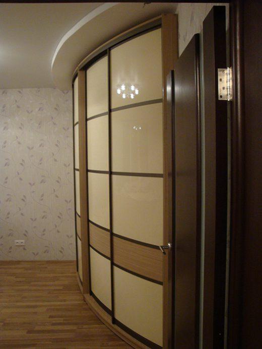 Радиусный шкаф 55-5