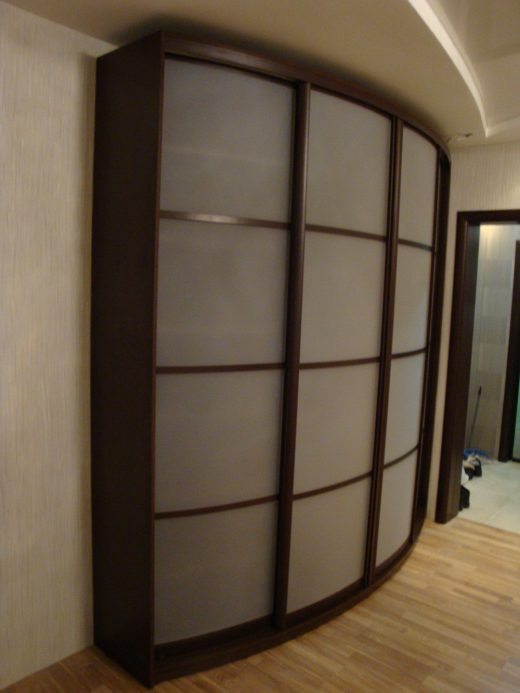 Радиусный шкаф 56-1