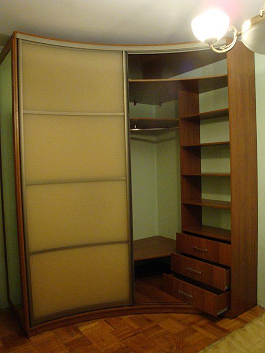Радиусный шкаф 57-4