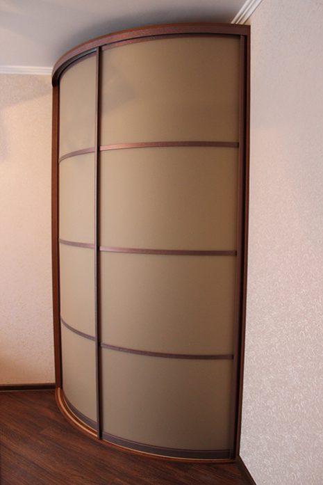 Радиусный шкаф 67-1