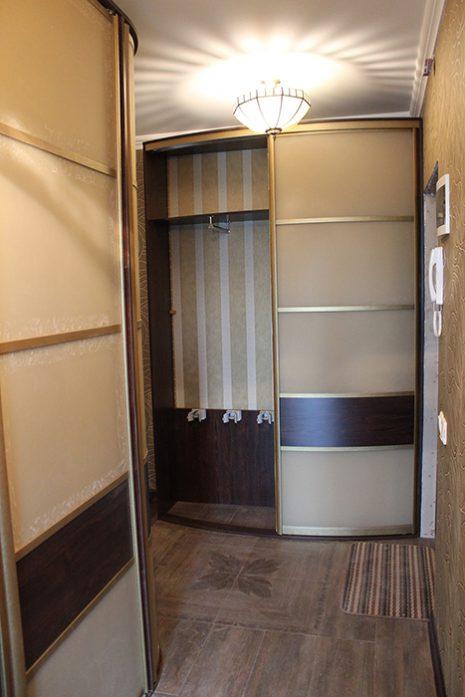 Радиусный шкаф 68-2