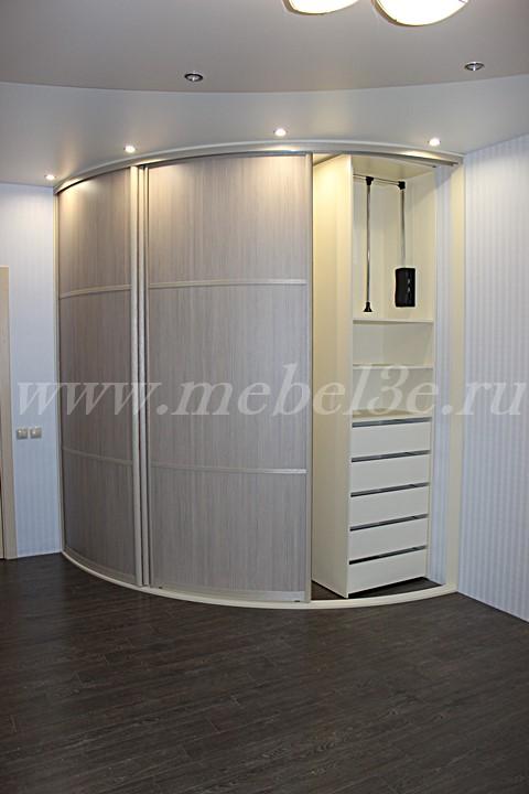 Радиусный шкаф 74-3